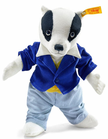 Bill the Steiff Badger